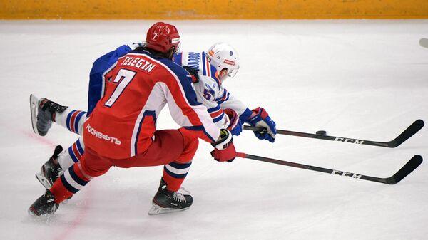 Хоккей. КХЛ. Матч ЦСКА - СКА