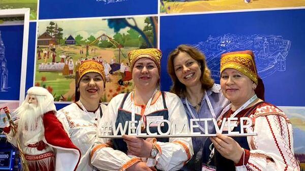Стенд Тверской области на профильной выставке Интурмаркет в Москве
