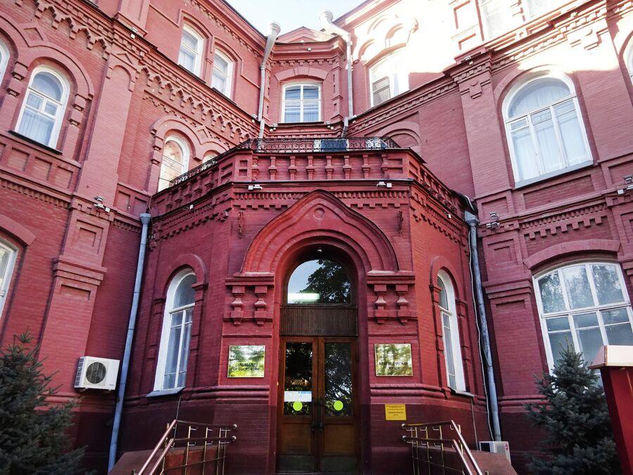 Краеведческий музей, фасад