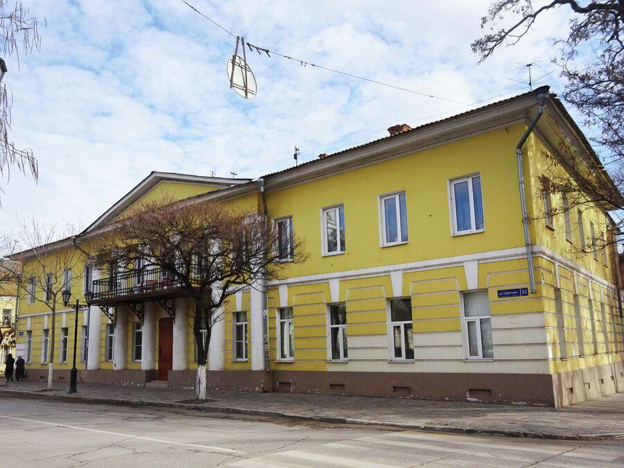 Классицизм. Здание полицейского управления (1830-е)