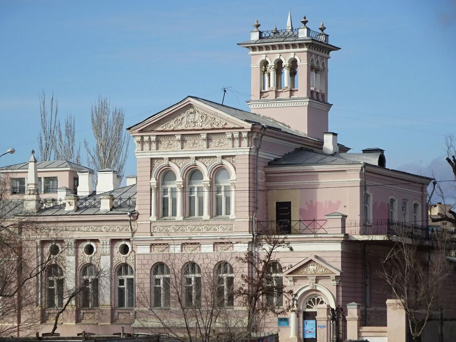 Эклектика. Усадьба Шелехова (1880-е г.)