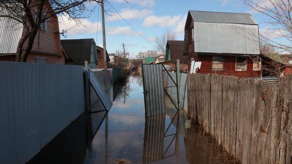 Паводок в Калужской области