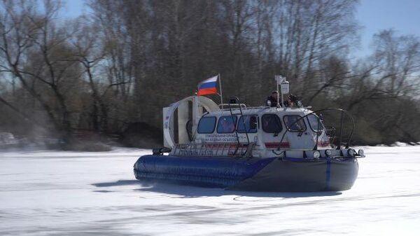 На тонком льду: как московские спасатели патрулируют водоемы