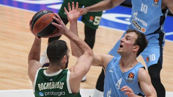 Баскетбол. Евролига. Матч Зенит - Панатинаикос
