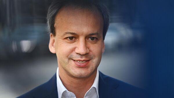 Президент Международной федерации шахмат Аркадий Дворкович