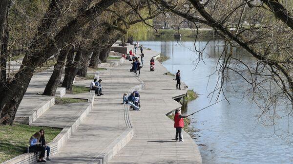 Набережная реки Везелки. Белгород