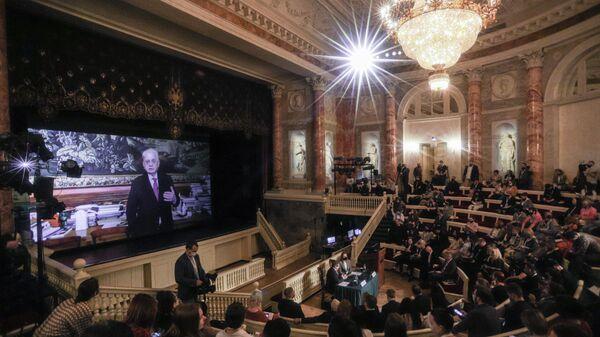 XV Международный медиафорум молодых журналистов Диалог культур, Санкт-Петербург