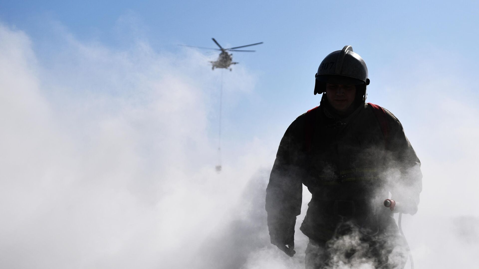 В здании на территории Военного университета в Москве потушили пожар