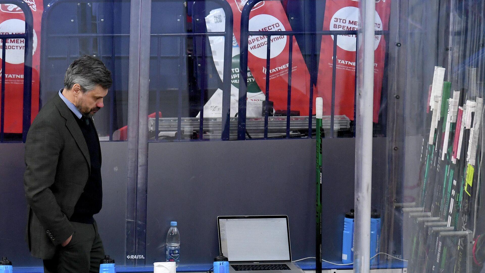 Главный тренер Ак Барса Дмитрий Квартальнов - РИА Новости, 1920, 15.04.2021