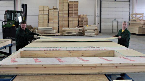 Производство деревянных строительных панелей