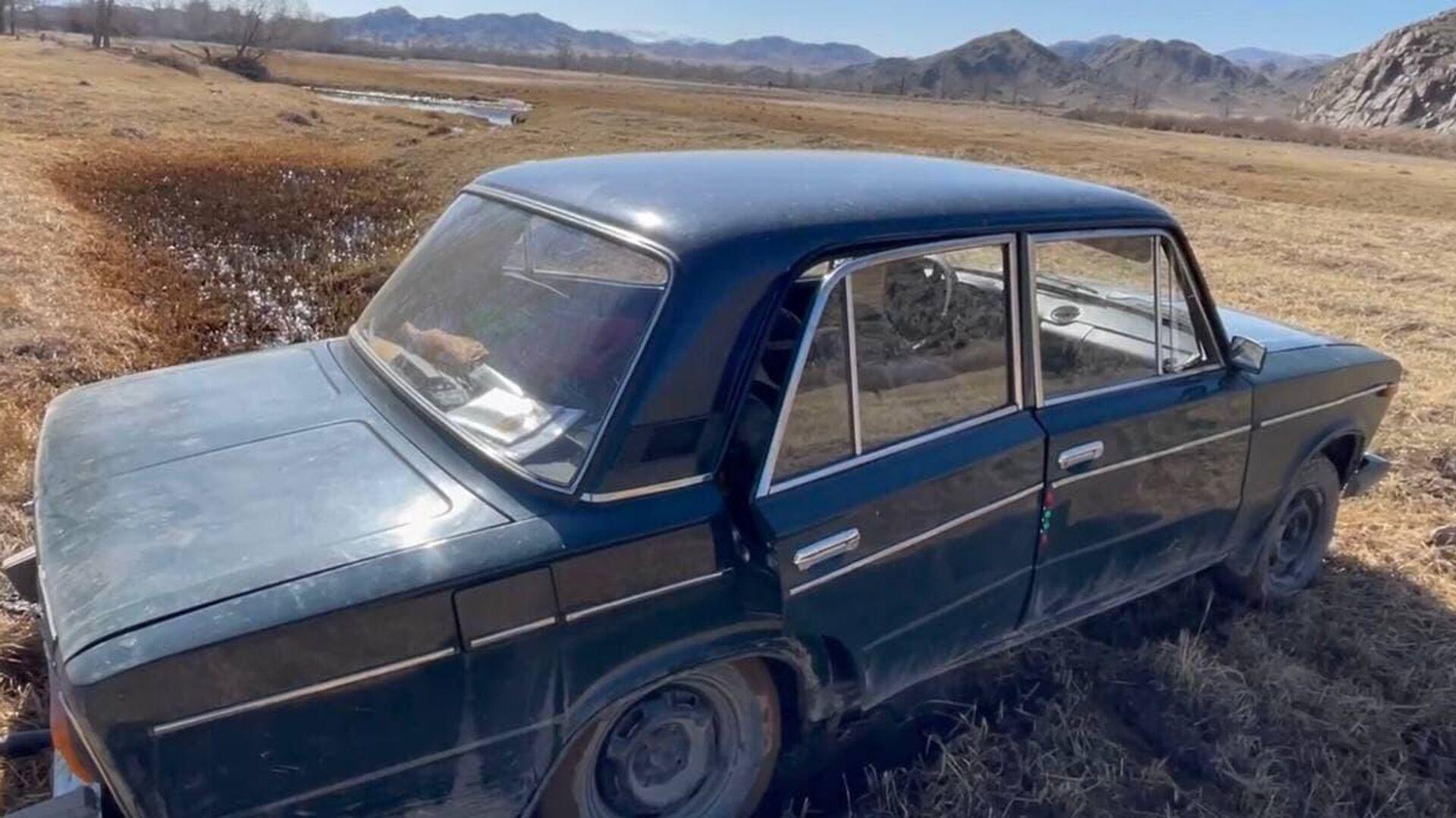 В Туве опрокинулся грузовой автомобиль с пассажирами