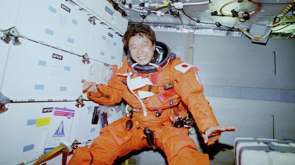 Астронавт японского космического агентства JAXA Тиаки Мукаи