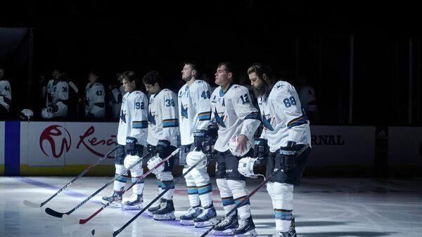 Хоккеисты Сан-Хосе Шаркс