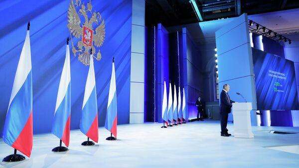Путин заявил, что Россия ведет себя скромно