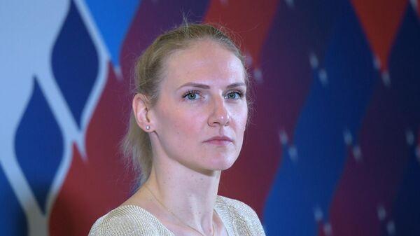 Пятикратная олимпийская чемпионка по синхронному плаванию Светлана Ромашина