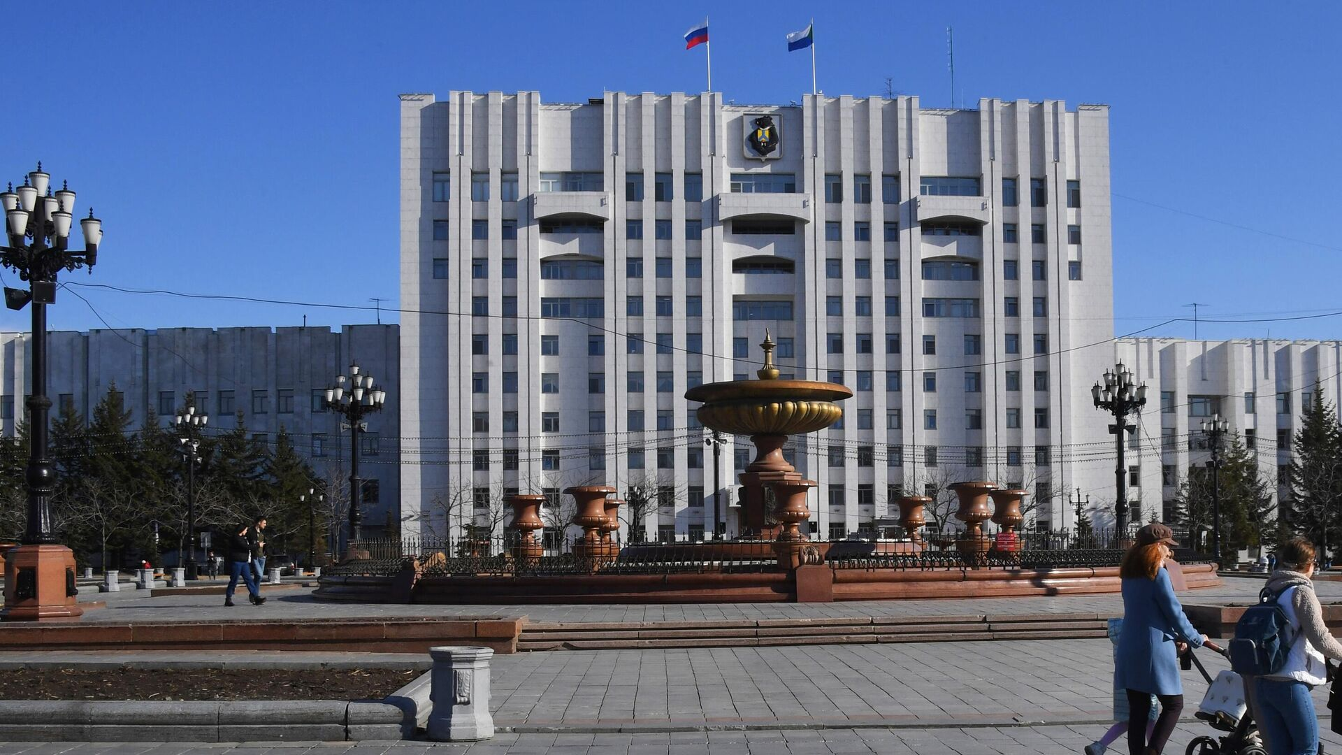 Площадь Ленина в Хабаровске - РИА Новости, 1920, 16.06.2021