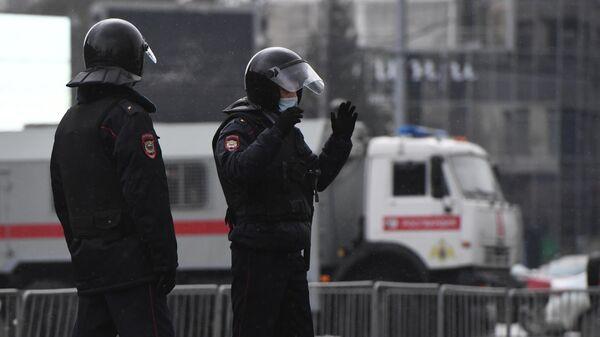 Несанкционированные акции в поддержку А. Навального в регионах России