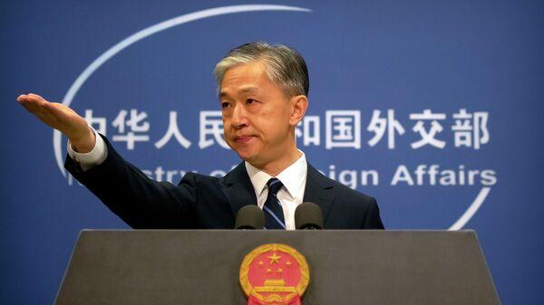 Пресс-секретарь Министерства иностранных дел Китая Ван Вэньбинь