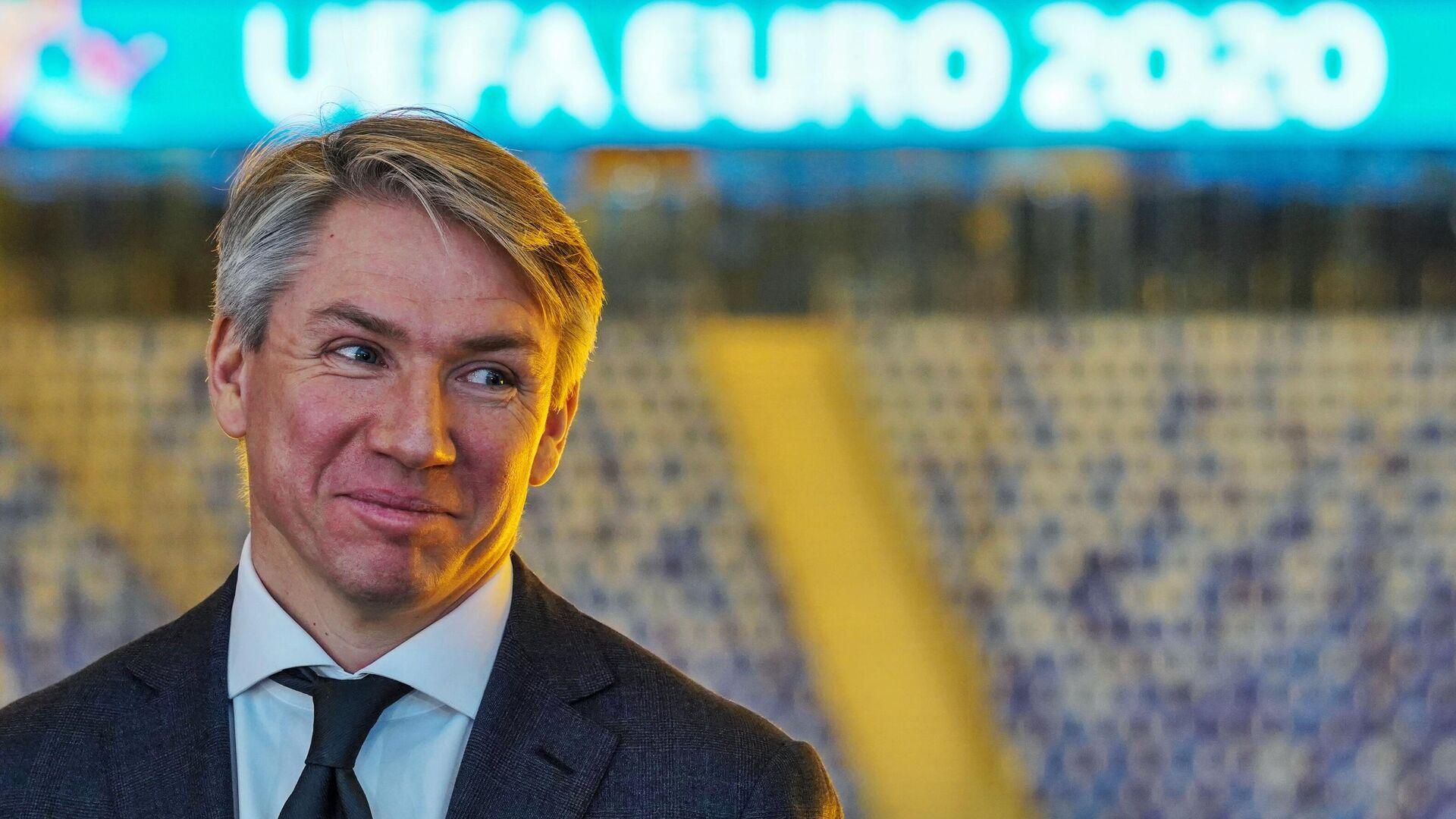 Генеральный директор Оргкомитета Евро-2020 в Санкт-Петербурге Алексей Сорокин - РИА Новости, 1920, 23.04.2021