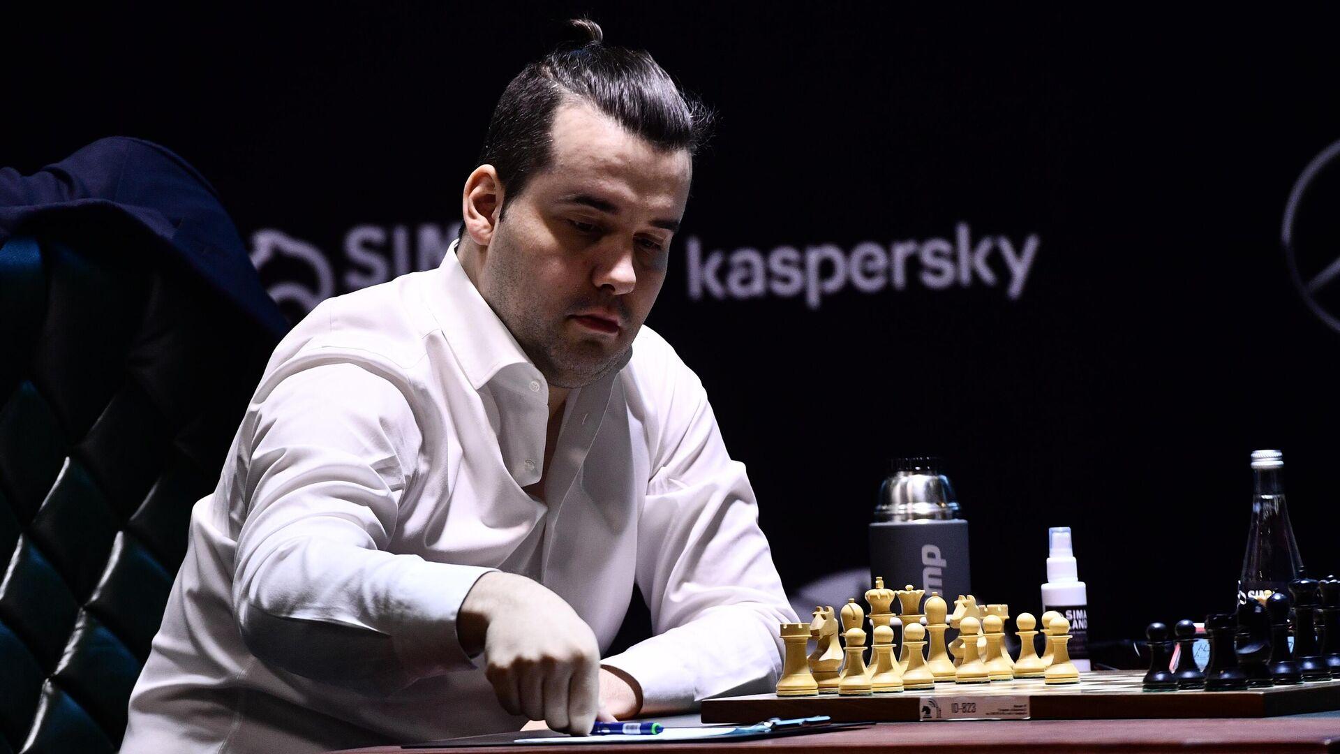Шахматист Ян Непомнящий (Россия) - РИА Новости, 1920, 26.04.2021