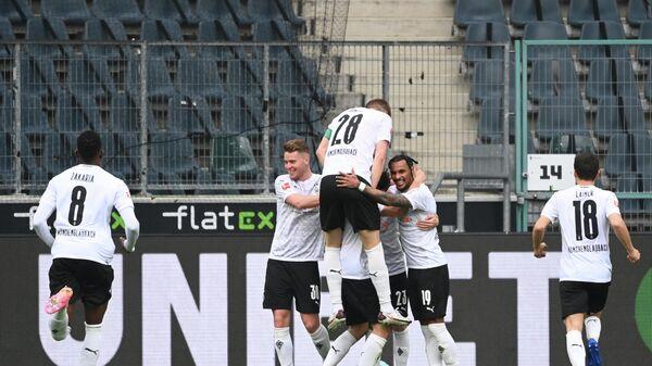 Футболисты Боруссии из Менхенгладбаха