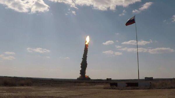 Кадры запуска новой противоракеты системы ПРО