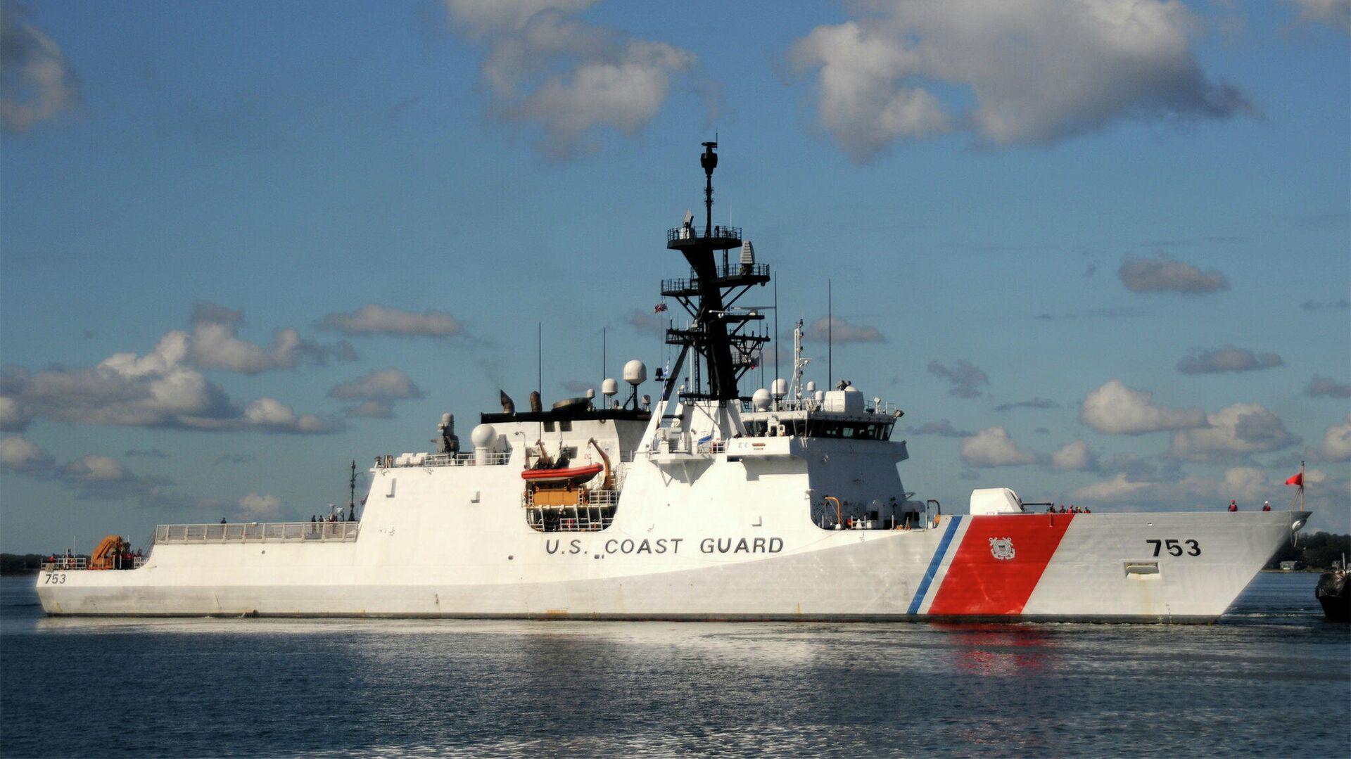 Сторожевой корабль Гамильтон береговой охраны США - РИА Новости, 1920, 06.05.2021