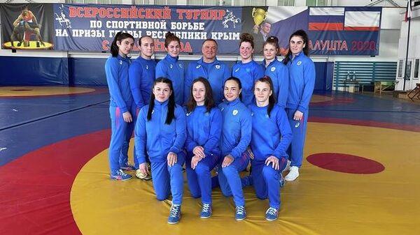 Женская сборная России по борьбе