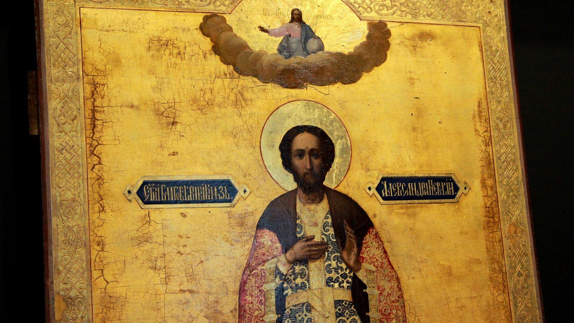 Икона Александра Невского - РИА Новости, 1920, 11.06.2021