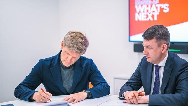 Подписание соглашения компаний Страна Девелопмент и Cushman & Wakefield