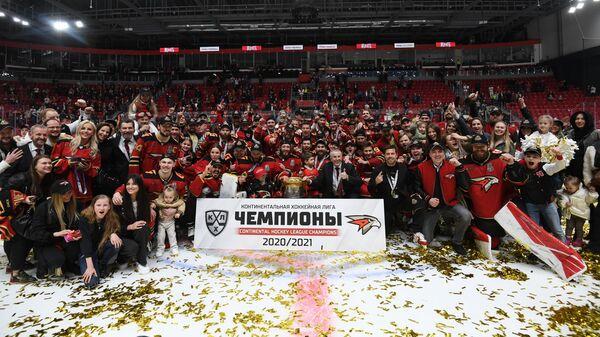 Хоккей. КХЛ. Финальная серия. Матч Авангард - ЦСКА