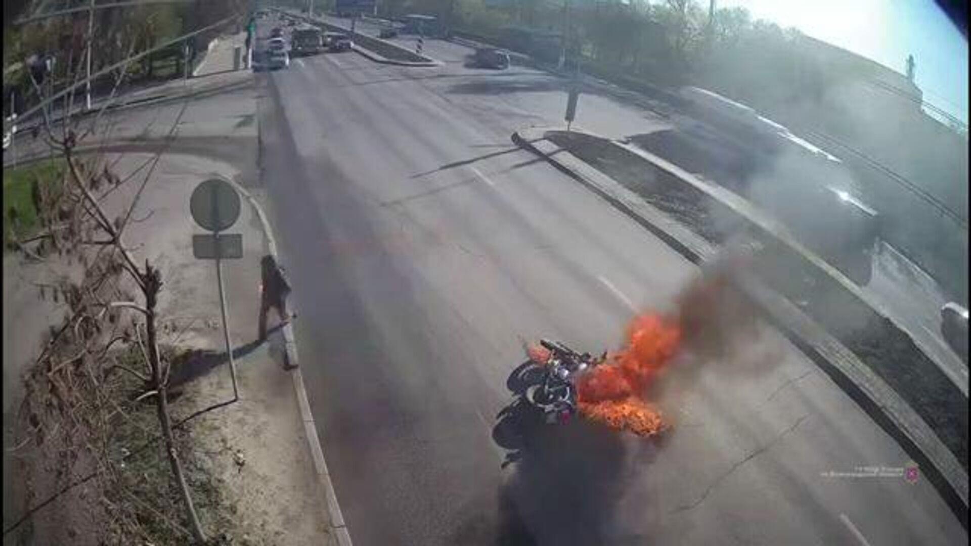 Под Ростовом три человека пострадали в ДТП с автобусом и трактором