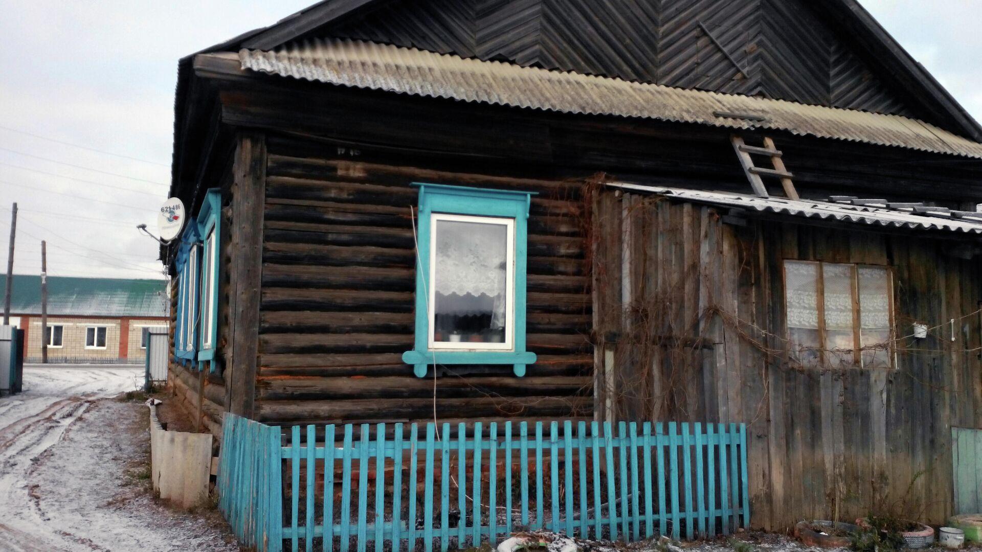 Дом, из которого выселяют семью - РИА Новости, 1920, 29.04.2021