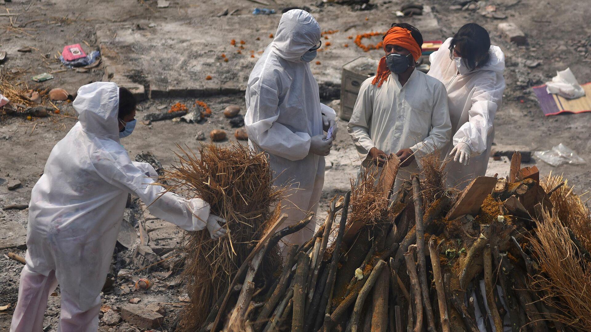 В Индии зафиксировали рекордное число смертей в сутки из-за коронавируса