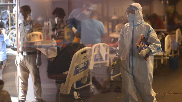 Ситуация в Индии в связи с коронавирусом. Работа крематория в Дели