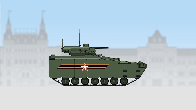 Парад Победы на Красной площади в Москве в 2021 году