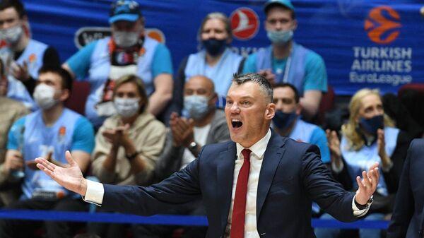 Главный тренер БК Барселона Шарунас Ясикявичюс