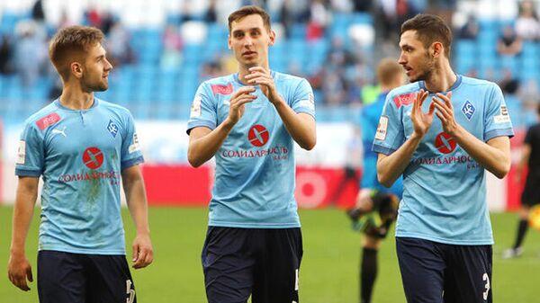 Футболисты Крыльев Советов