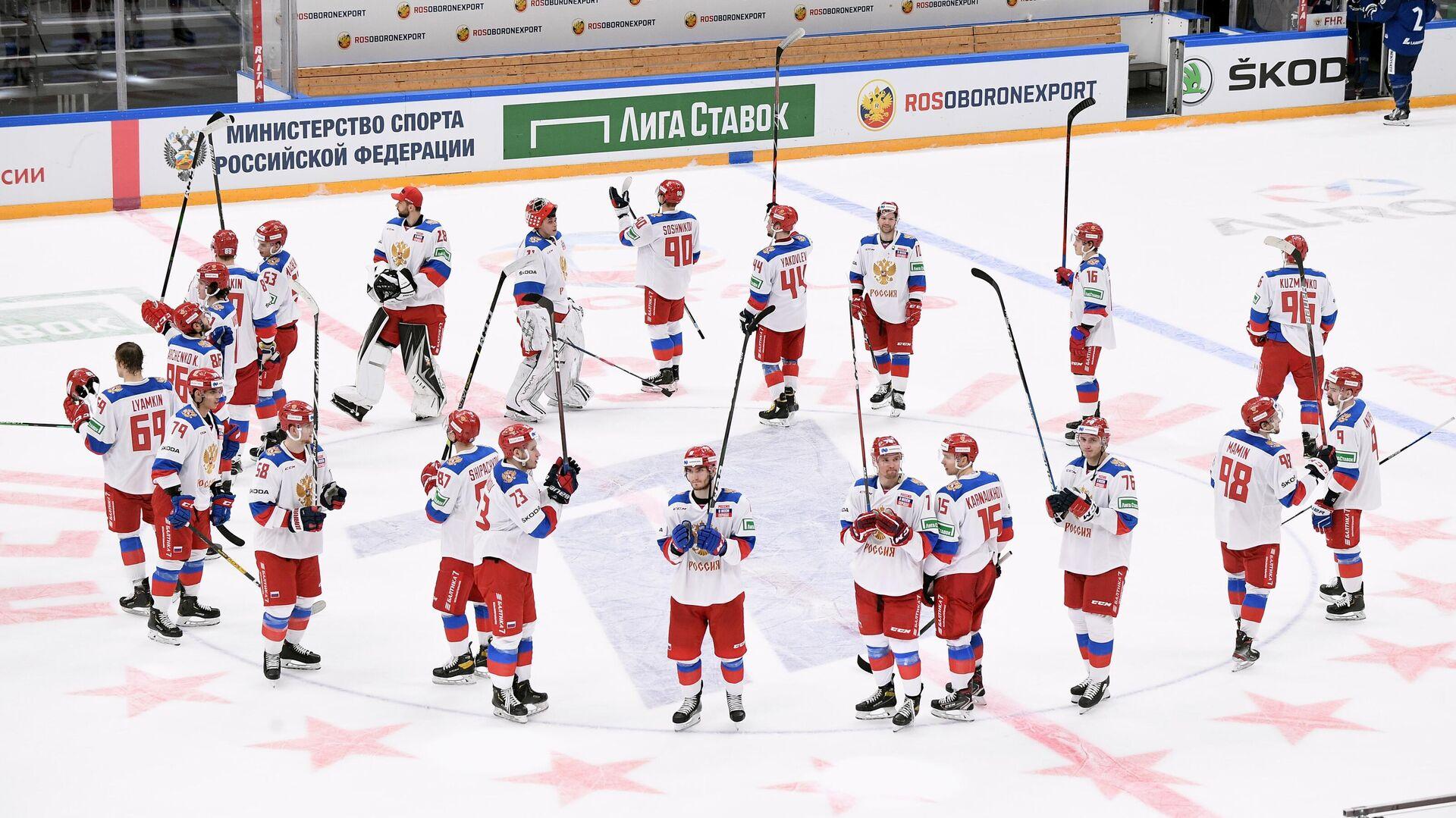 Игроки сборной России по хоккею - РИА Новости, 1920, 05.05.2021