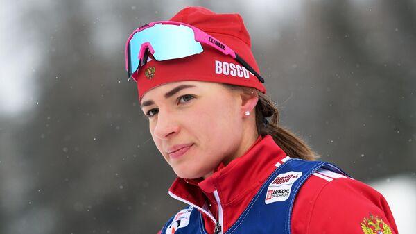 Лыжница Яна Кирпиченко