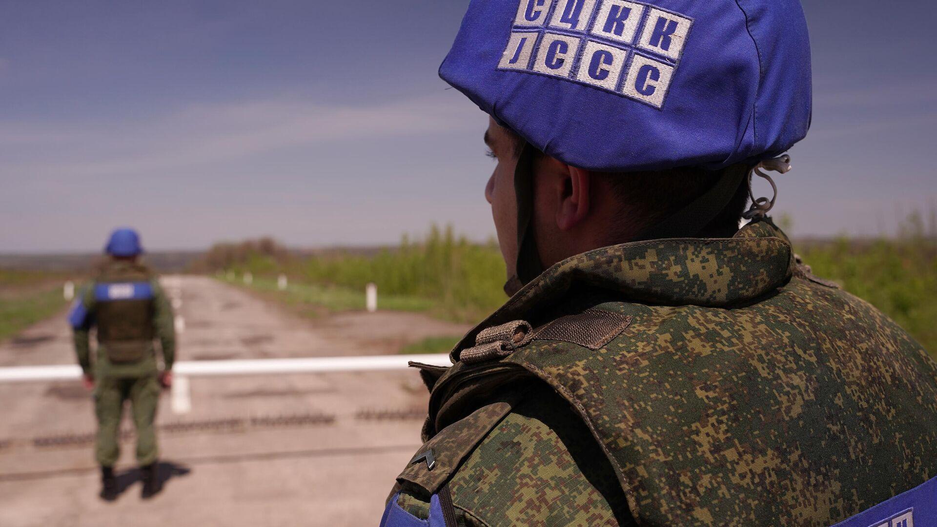 Совместный центр по контролю и координации режима прекращения огня в Донбассе - РИА Новости, 1920, 12.06.2021