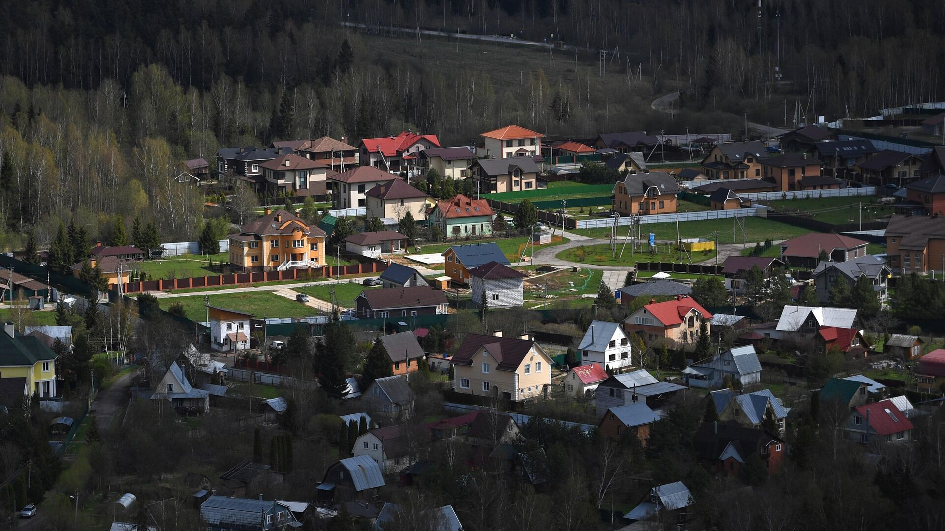 Коттеджный поселок - РИА Новости, 1920, 15.05.2021