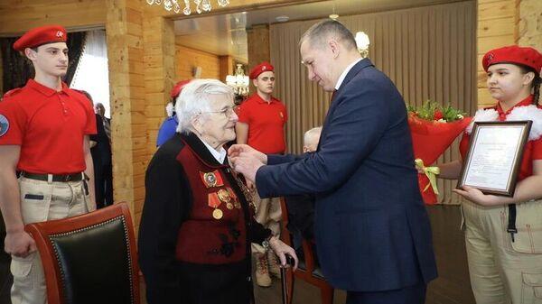 Ветеран Великой Отечественной войны Сальма Яновна Шарупич