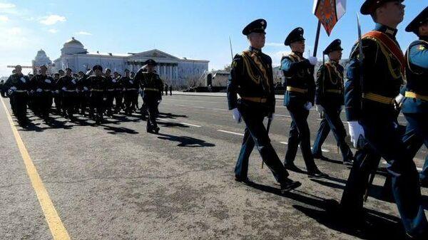 Парад Победы в Чите