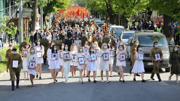 Акция Бессмертный полк в Молдавии