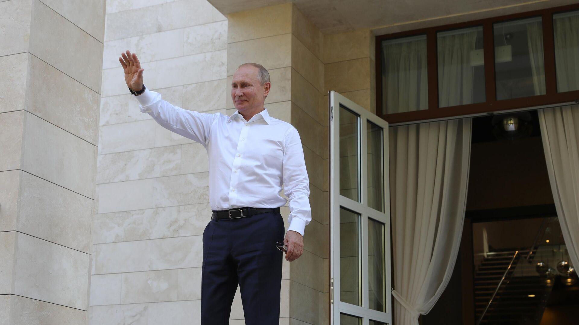 Путин проведет рабочую встречу с губернатором Красноярского края