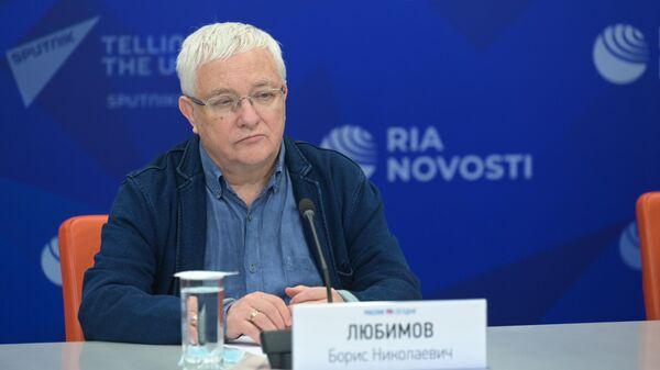Ректор Высшего театрального училища им. М.С. Щепкина Борис Любимов