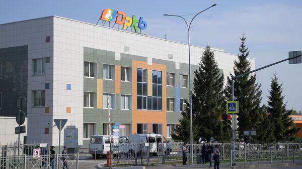 Республиканская детская клиническая больница в Казани, куда были госпитализированы раненные при стрельбе в гимназии