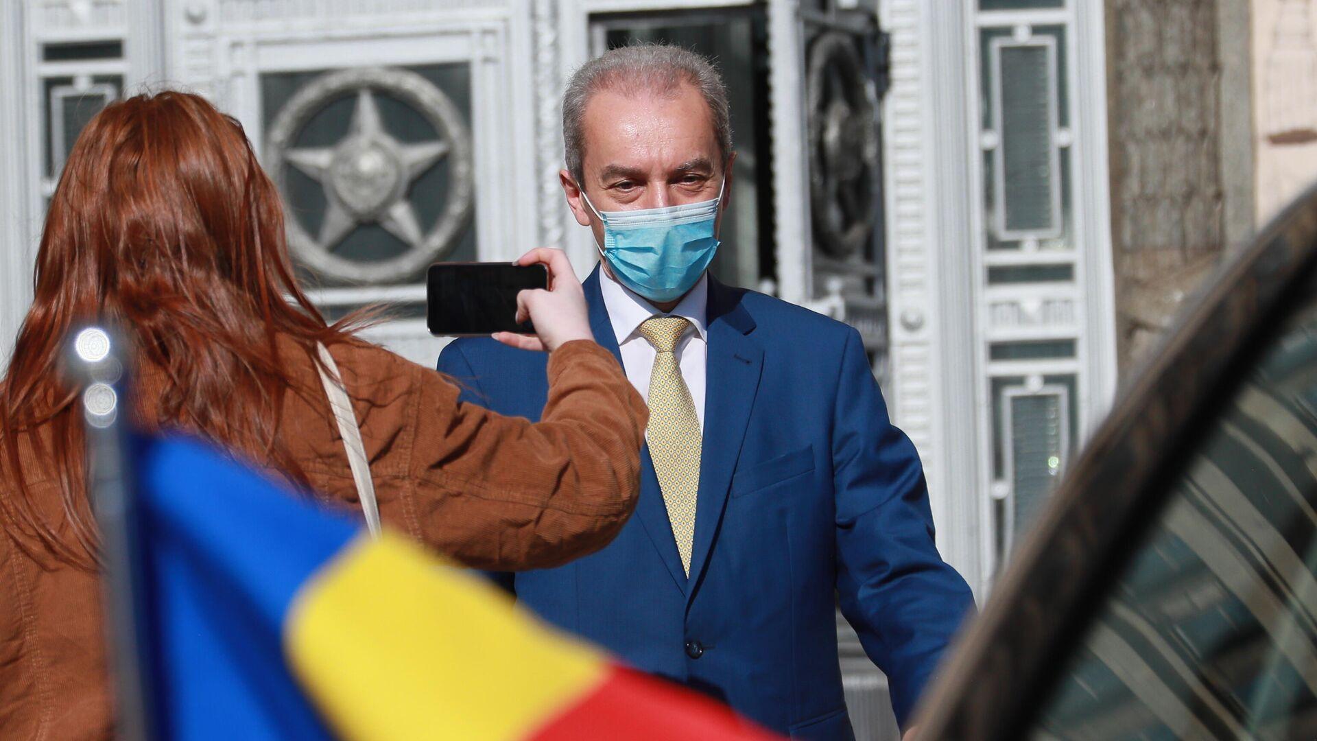 Посол Румынии Кристиан Истрате прибыл в МИД России после высылки Бухарестом российского дипломата - РИА Новости, 1920, 11.05.2021