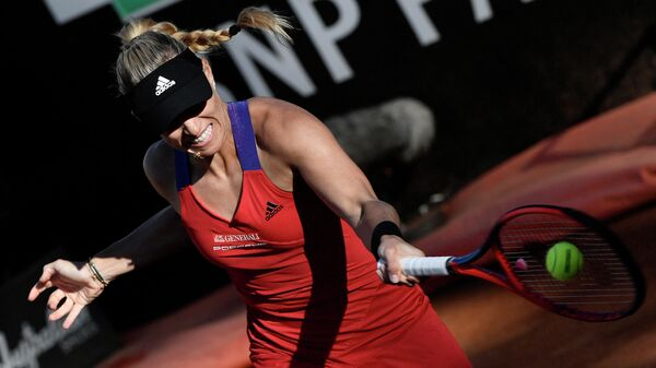 Теннисистка Ангелика Кербер (Германия)